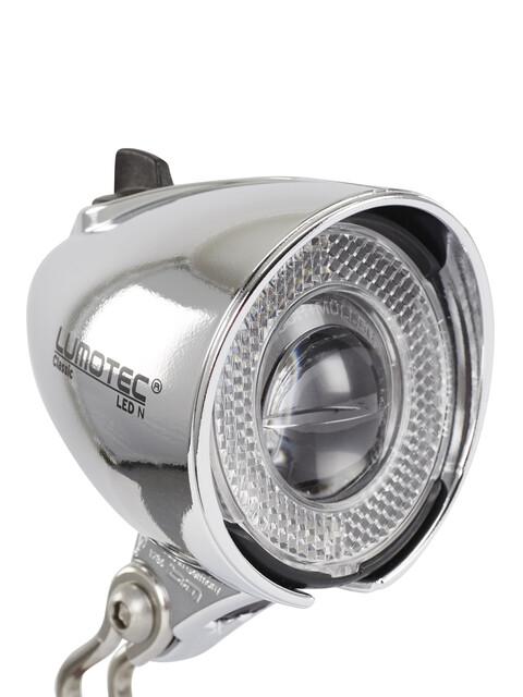 Busch + Müller Lumotec Classic N Fietsverlichting zilver